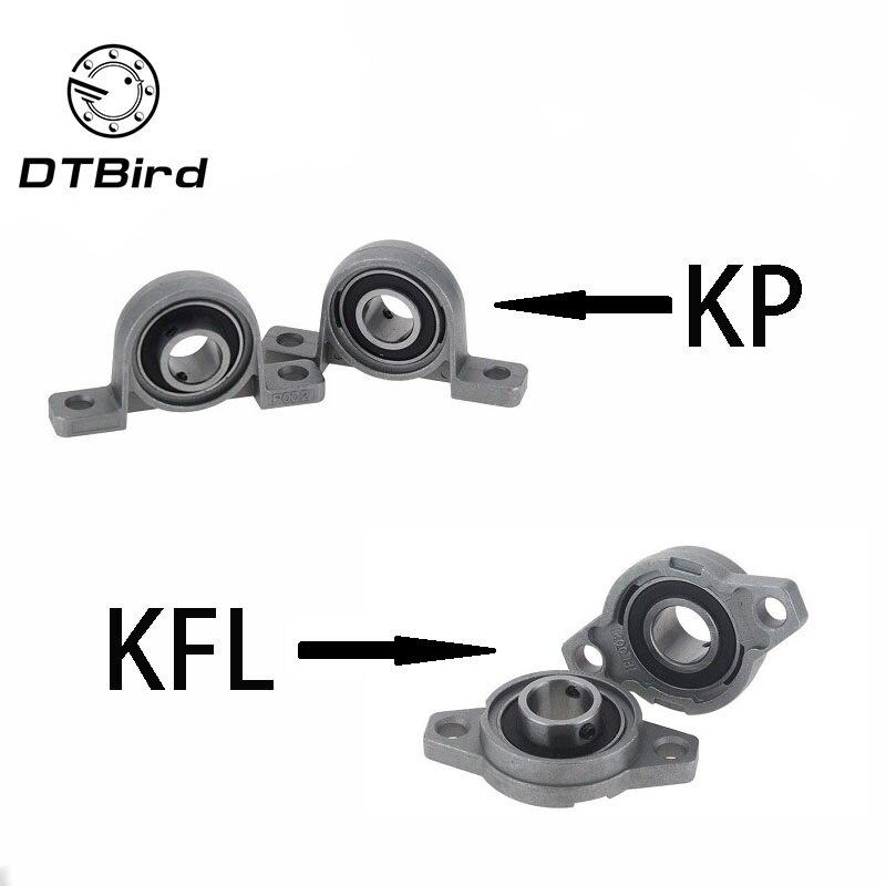 KFL08 KP08 KFL000 KP000 KFL001 KP001 Bearing Shaft Support Spherical Roller Zinc Alloy Mounted Bearings Pillow Block Housing
