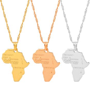Anniyo mapa afryki naszyjnik kobiety mężczyźni kolor srebrny złoty kolor biżuteria etiopska hurtownie mapa afryki Hiphop pozycja #132106 tanie i dobre opinie Miedzi Unisex Wisiorek naszyjniki CN (pochodzenie) Klasyczny Wody-łańcuch fali Metal None Party Size to See Photos Moda