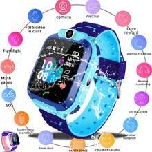 Q12 dzieci dzieci inteligentny zegarek SOS telefon monitor lokalizacji Anti-Lost aparat dotykowy ekran wodoodporny zegarek studencki 828
