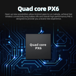 Image 5 - 2 DIN Android 9.0 Ouad Core PX6 Radio Stereo GPS NAVI Âm Thanh Video PC Box Wifi BT HDMI amp 7851 OBD DAB + SWC 4G + 32G
