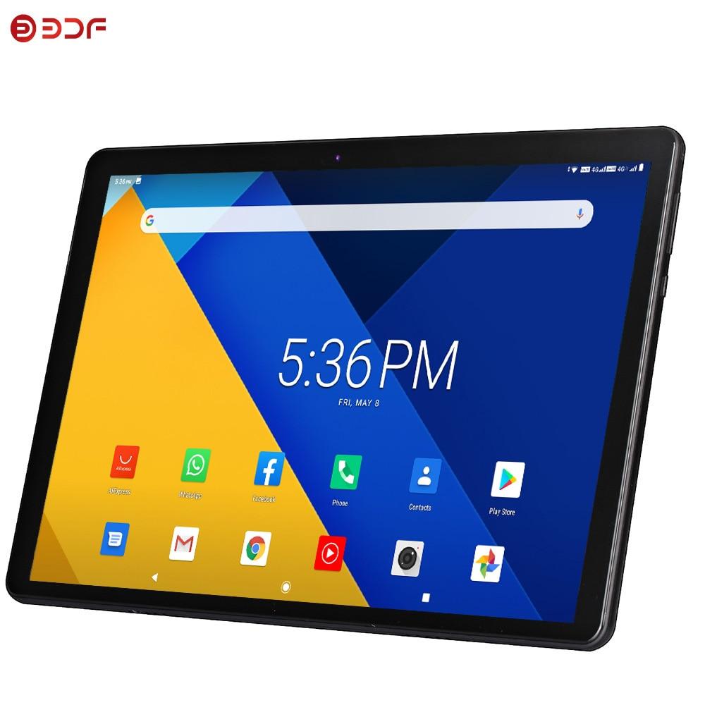 Bdf 10 Inch Android 9.0 Tablet Pc Octa Core 4G Lte Mobiele Telefoon Call Sim Card 2Gb Ram 32Gb Rom Tabletten Pc Bluetooth Wifi Mini Pc