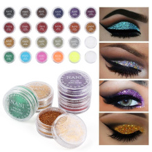 Shiny Eye Shadow 24color Multicolor Matte Makeup Loose Powder Flexible Long-lasting Glitter Eye Shadow Pearl Powder TSLM2