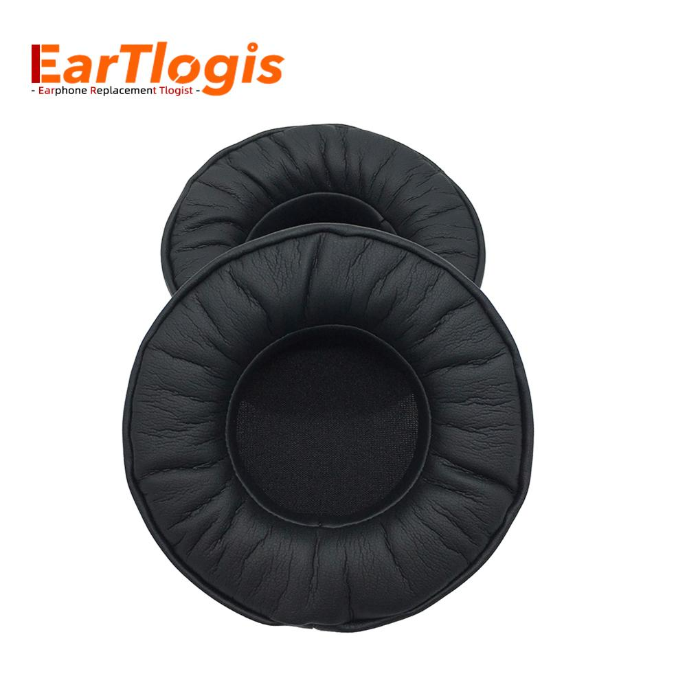EarTlogis Replacement Ear Pads For Audio-Technica ATH-AVC500 ATH AVC-500 Headset Parts Earmuff Cover Cushion Cups Pillow