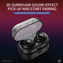 The cp-7 car mini business binaural bluetooth earphone TWS has a wireless earplug and stereo bluetooth 5.0 noise reduction HIFI