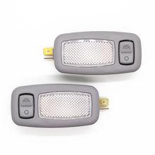 Оригинальная лампа для салона, 2 шт. OEM LH RH серая для Hyundai 2011-2015 i45 YF Sonata Elantra / AVANTE MD Forte / Koup K3