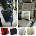 Hot Car Seat Electric Back Massager Massage Vibration Waist Pillow Cushion for Lumbar Support X66