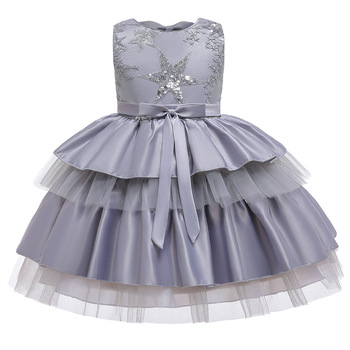 Vintage Flower Girl Dresses For Weddings Custom Made Princess Tutu Sequined Appliqued Lace Bow Kids First Communion фото