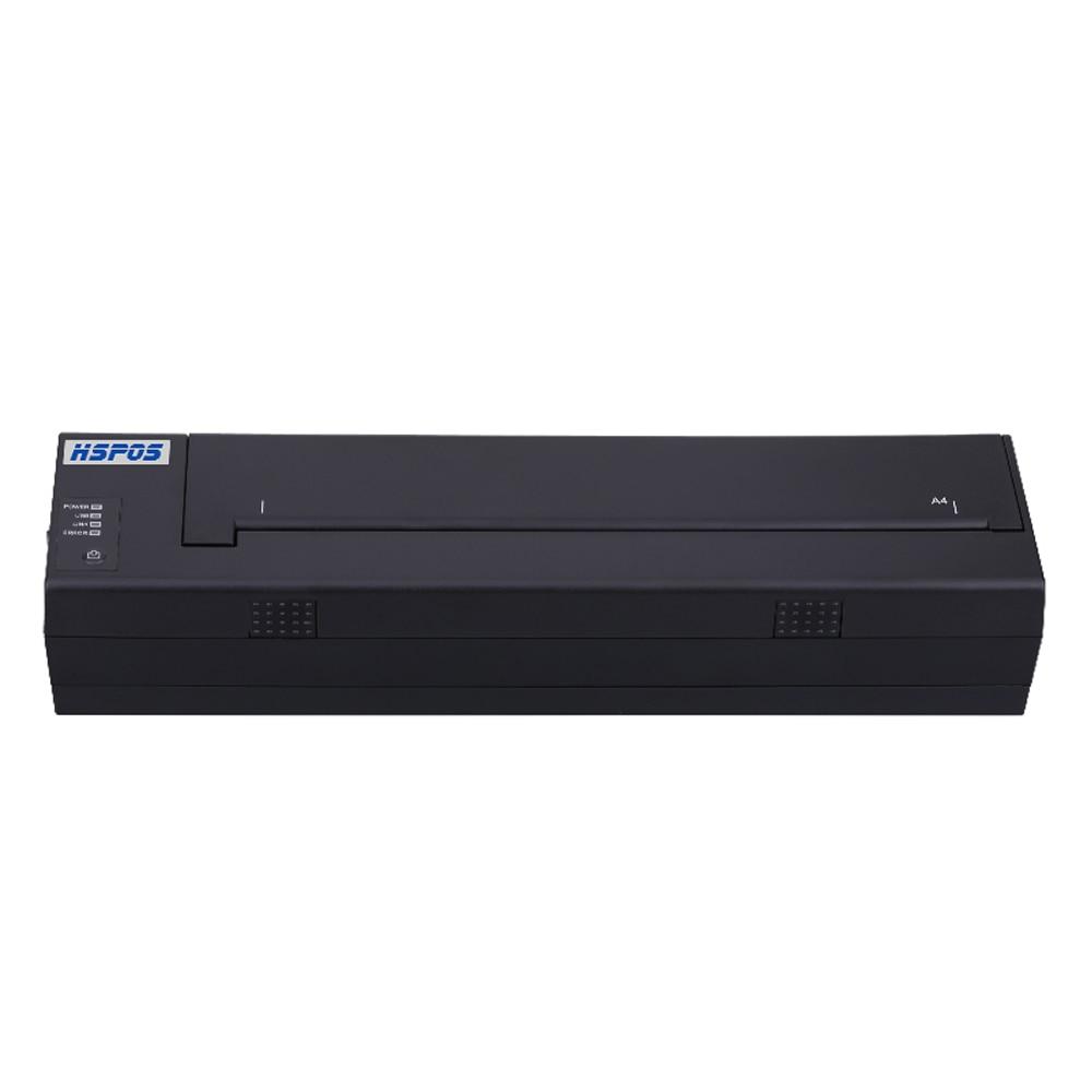Neueste Design A4 Tragbare Bluetooth Drucker Eingebaute Batterie Unterstützung PDF, Dokumente, Fotos von Handy Druck