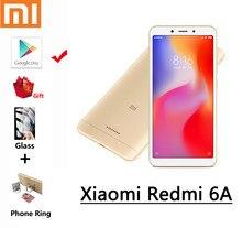 Xiaomi Redmi 6A Smartphone 3GB 32GB google oyun cep telefonu Helio A22 işlemci küresel çerçeve