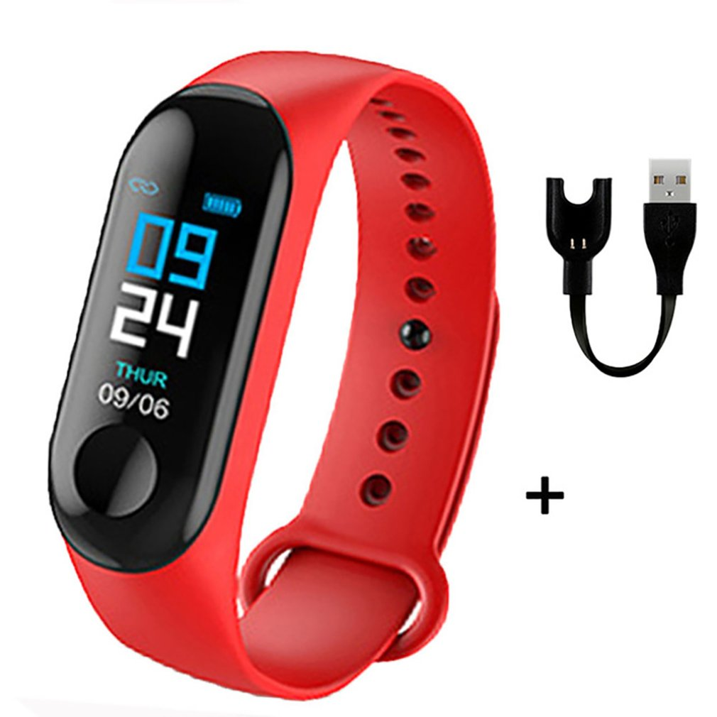 M3 Plus Smart Wristband Smart Bracelet Fitness Tracker Smart Band Heart Rate Activity Bracelet Sport Smart Watch Band