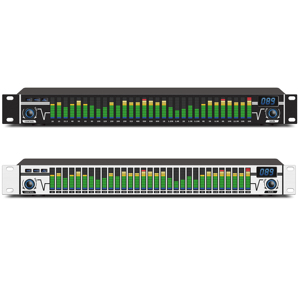 Leicozic Dual 31 bands equaliser audio digital equalizador de audio professional equalizers A31 professional sound system