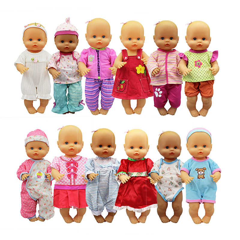 New Set Doll Clothes Fit 33-35 Cm Nenuco Doll Nenuco Su Hermanita Doll Accessories