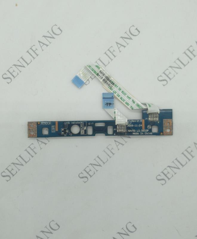 LS-5653P For Acer Aspire One PAV70 532H D255 D260 EM350 Touchpad Mouse Button Board LS-5653P With Cable