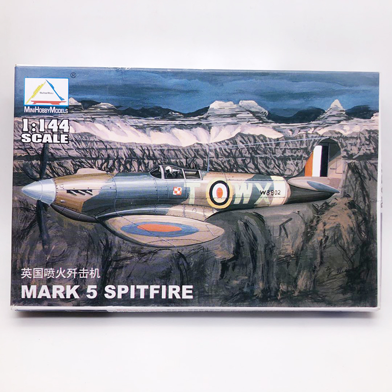 1:144 World War II British Fire Fighter Military Assembly Aircraft Model