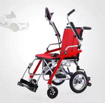 2020 Free Shipping Hot Sale Disabled Elderly Ultra Lightweight Intelligent Folding Electric Wheelchair