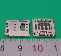 2 pçs leitor de cartão sim bandeja slot titular conector para lenovo yoga tablet b6000 b8000 a5500 s8000 a768t a816 a805e b8080 guia soquete