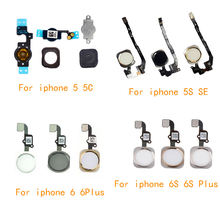 Home button with flex cable for iphone 5 5c 5s se 6 6plus 6s