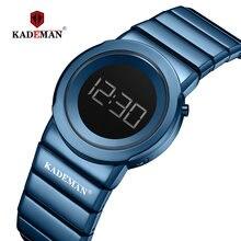 Часы наручные kademan женские цифровые Брендовые повседневные