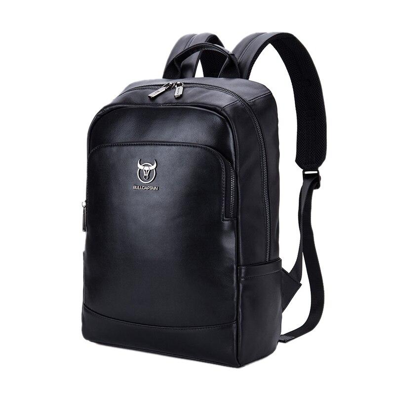 Abdb-bullcaptain sac à dos en cuir multi-fonction pour hommes sac de voyage Simple pour hommes sac de rangement pour hommes