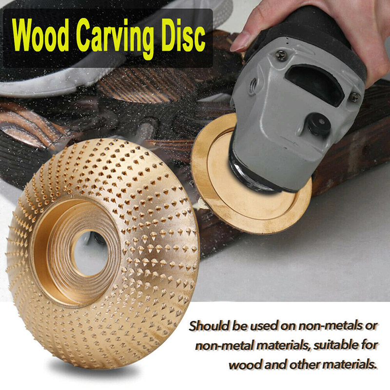 Tungsten Carbide Grinding Wheel 4 Sizes Available Woodworking Wood Angle Grinding Wheel DTT88