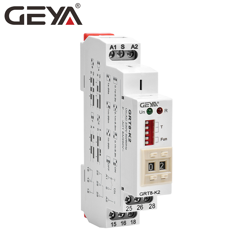 ST3PF DC 24V 8-Pin 30s Off-Delay Operation Time Delay Timer Relay Gray