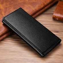 MAKEULIKE per Huawei P20 Lite P20 Pro custodia a portafoglio in vera pelle borsa universale per Huawei Honor 9 Mate 10 Lite