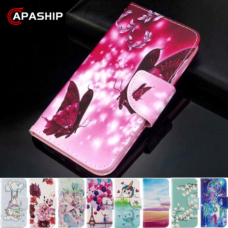 3D Butterfly Wallet Leather Flip Case For Redmi Note 4 5 6 7 8 Pro 8Pro 4X 5A 6A 7A 8A 8T Cover For Xiaomi 9 Lite CC9 Cases Capa