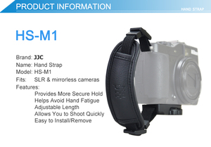 Image 2 - PU Leather Hand Strap Belt Camera Grip Wrist Quick Install For Canon EOS 250D 200D M6 Mark II RP R M50 M200 M100 M10 M5 M3 M2 M