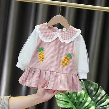 2021 noworodka sukienka dla dzieci dla dziewczynek 1 rok urodziny sukienki księżniczki maluch dziewczynka ubrania dla niemowląt odzież sukienki malucha tanie i dobre opinie msnynieco W wieku 0-6m 7-12m 13-24m Plaid CN (pochodzenie) Kobiet Pełna REGULAR Na co dzień PATTERN Pasuje prawda na wymiar weź swój normalny rozmiar