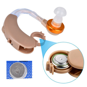 Image 3 - Bte aparelho auditivo amplificador de som voz axon F 138 aparelhos auditivos atrás da orelha ajustável cuidados de saúde