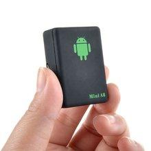 цена на A8 Mini Elderly Children GPS Locator Plastic Portable Anti-Lost Track Car Anti-Theft Fence Alarm Mobile Alarm