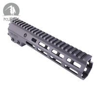 9.513.5 Free Float M lock Handguard Picatinny Rail for Hunting Tactical Rifle Scope Mount