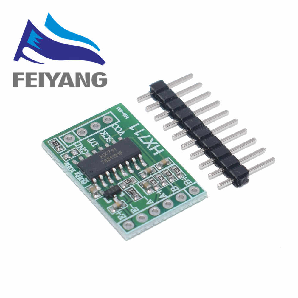 10PCS Dual Channel HX711 Weighing Pressure Sensor 24-bit Precision A/D Module DIY Electronic Scale For Arduino Diy Kit