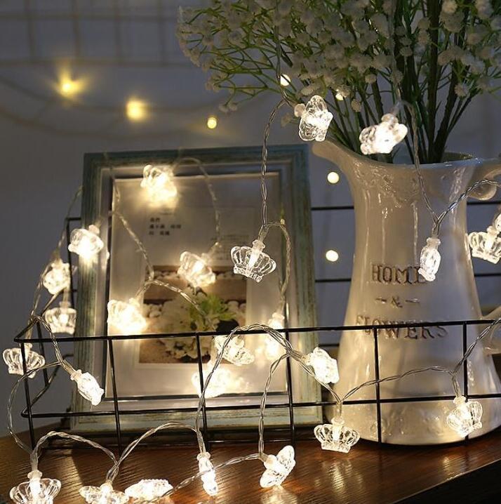 1.5m 10 Led LED String Light Decoration Holiday Coloured Light Battery Box Lamp String