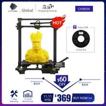ANYCUBIC Chiron لتقوم بها بنفسك ثلاثية الأبعاد مجموعة الطابعة TFT التسوية التلقائية الطارد المزدوج Z محور Impressora طابعة ثلاثية الأبعاد impresora