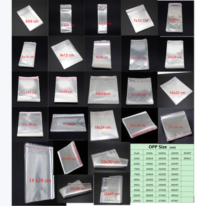 Image 1 - Lot Clear Cellophane Cello Bags Plastic OPP Card Display Self Adhesive Peel Seal