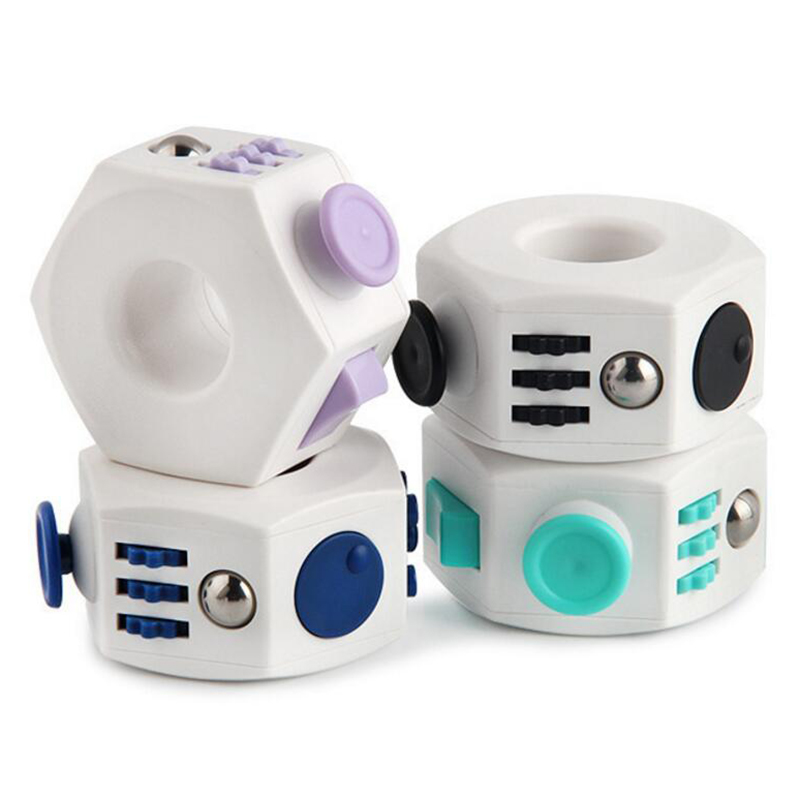 Decompression toy Fidget Toys Anti Stress Cube Toy Press Magic Stress and Anxiety Relief Depression Anti Cube for Kid and Adults