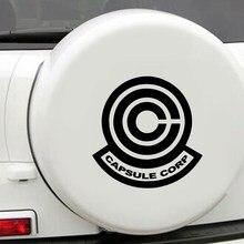 Beleza cápsula corp auto adesivo arte decalques do carro novo design padrão