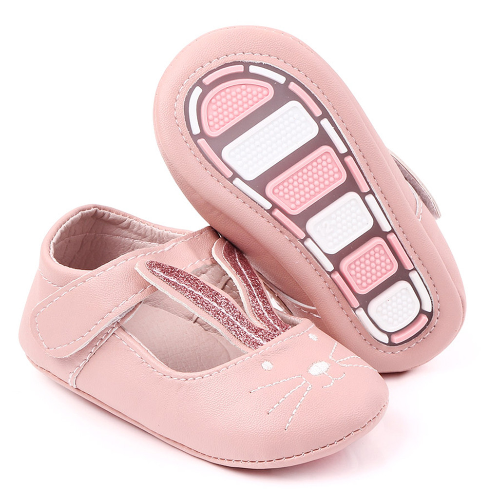 Baby Boots Infant Cute Rabbit Buckle Shoes Newborn Girls Boys Lightweight Outdoor Shoes Lovely Baby First Walkers Shoes Booties