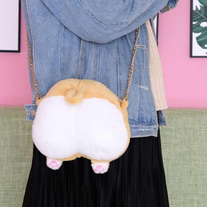 Niños lindo Animal bolso del Cruz-cuerpo, bolsas de moda niñas Casual bolso de hombro # m