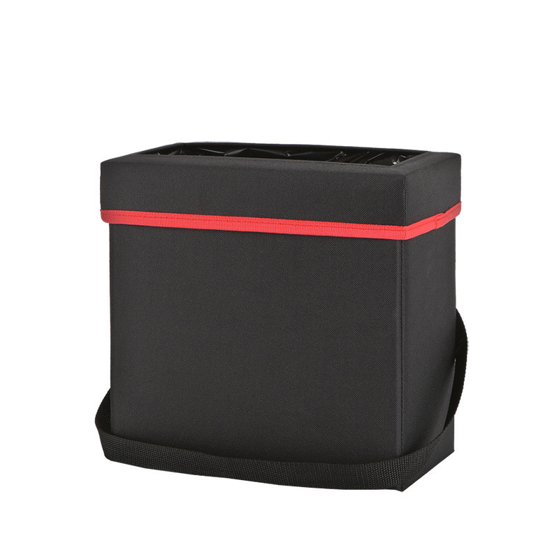 Traveling Portable Car Trash Can - Collapsible Pop-up LeakProof Bin Oxford Polyester