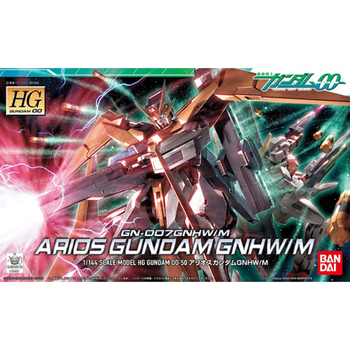 BANDAI HG 00 50 1/144 GN-007 ARIOS Gundam GNHW M Assembly Action Toy Figures Christmas Gift Toys 2