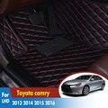 Автомобильные аксессуары для интерьера  автомобильные кожаные коврики  автомобильные коврики для Toyota camry 2013 2014 2015 2016