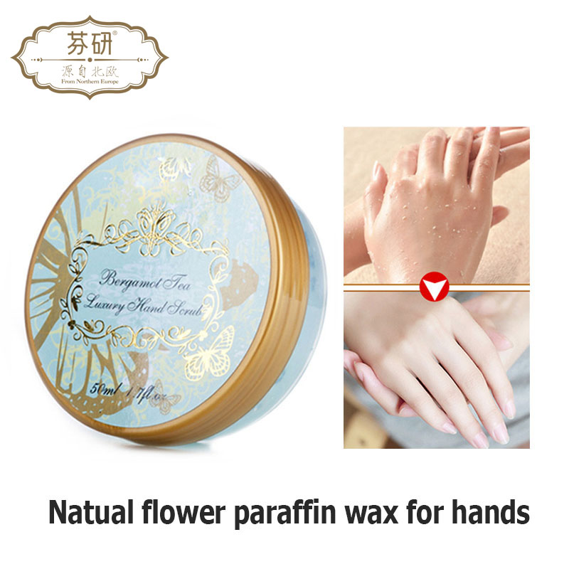 Fenyan Natural Flower Paraffin Wax Hand Mask Hand Care Moisturizing Whitening Skin Care Exfoliating Calluses Hand Film Hand Care