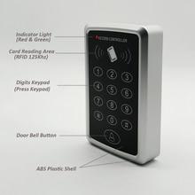 125 KHz RFID Access Control กดปุ่มกด RFID Access Control ประตูล็อค Controller ประตู Locker และเปิด
