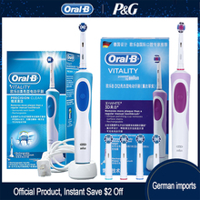 Oral B Sonic Electric Toothbrush D12 Vitality Rachargeable Rotating Ultrasonic Automatic Replacement Heads Electronic Toothbrush