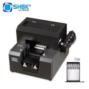 Полностью автоматический УФ-принтер A4 с цилиндровым вращающимся устройством. Она может напечатать цилиндрический предмет бутылки вина и п...