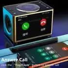Stereo Bluetooth Speaker 20W LED Screen FM Radio Alarm Clock Home Desktop Wireless HiFi Mic Loudspeaker Bass Subwoofer Soundbox - 3