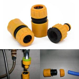 """Image 2 - 1/3/10pcs 5/8"""" 1/2"""" 3/4"""" Barbed Irrigation Hose Connector Quick Tap Water Adapter Fast Coupling Adapter Drip Tape Garden Tool"""