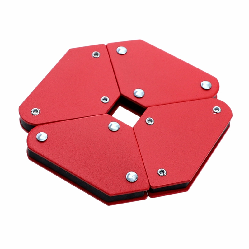 4 Pcs Magnetic Welding Holder Angle Soldering Locator Tools 45° 90° 135° Corner for Holder and Positioner In Welding